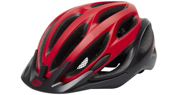 Bell Traverse Helmet mat red/black